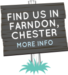 Find us in Farndon, Chester